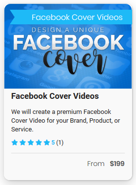 Facebook cover video ad